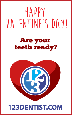 Are your teeth ready for a Valentine's Day smile!