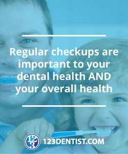 Regular checkups are important to your dental and overall health
